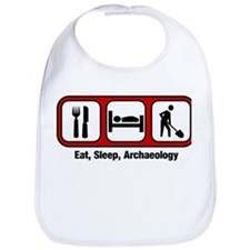 Eat, Sleep, Archaeology Bib