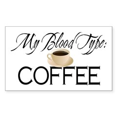 Blood Type Decal