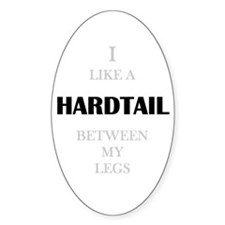 HARDTAIL Oval Decal
