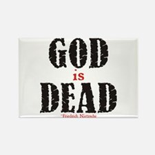 God Is Dead Rectangle Magnet