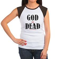 God Is Dead Women's Cap Sleeve T-Shirt
