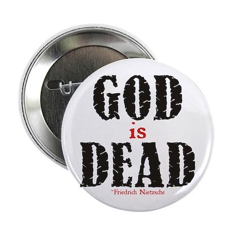 "God Is Dead 2.25"" Button"