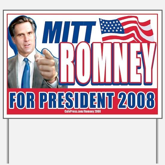 Mitt Romney 2008 Yard Sign
