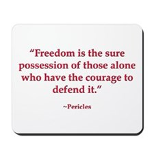 Defend Freedom Mousepad
