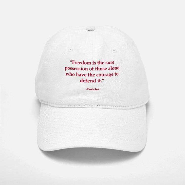 Defend Freedom Baseball Baseball Cap