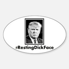 Trump...Resting Dick Face Decal