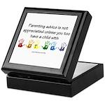 Autism Parenting Keepsake Box