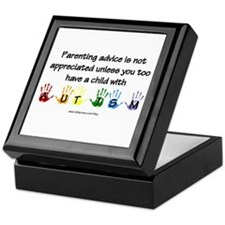 Autism Parenting Keepsake Box