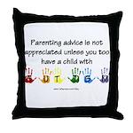 Autism Parenting Throw Pillow