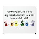 Autism Parenting Mousepad