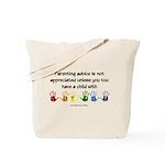 Autism Parenting Tote Bag