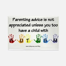 Autism Parenting Rectangle Magnet