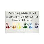 Autism Parenting Rectangle Magnet (10 pack)