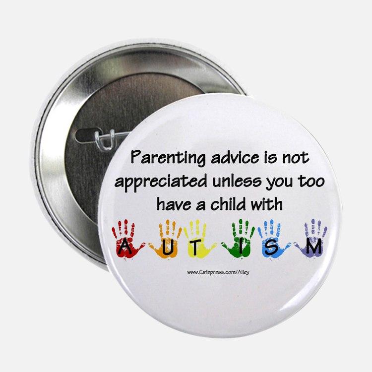 """Autism Parenting 2.25"""" Button"""