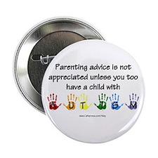"""Autism Parenting 2.25"""" Button (100 pack)"""