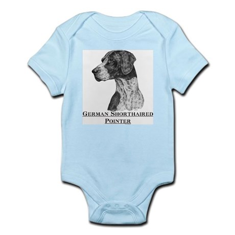 German Shorthaired Pointer Dog Infant Creeper