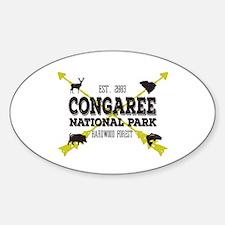 Congaree National Park Hog Decal