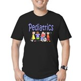 Pediatric nurse Fitted T-shirts (Dark)