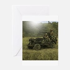 Jeep Greeting Cards