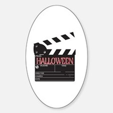 Funny Action movie Sticker (Oval)