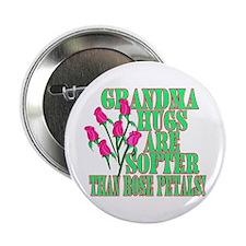 "Grandma Hugs 2.25"" Button"