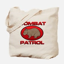 Wombat Patrol III Tote Bag