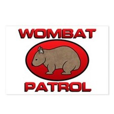 Wombat Patrol III Postcards (Package of 8)