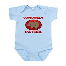 Wombat Patrol III Infant Bodysuit
