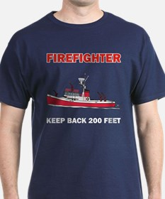 Firefighter Fireboat T-Shirt