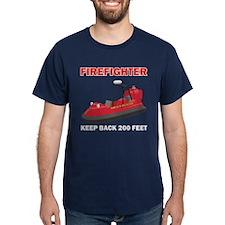 Firefighter Hovercraft T-Shirt