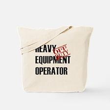Off Duty Heavy Equipment Oper Tote Bag