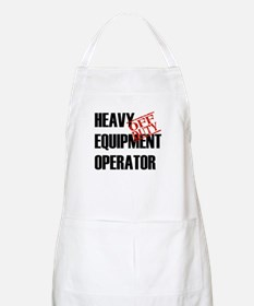 Off Duty Heavy Equipment Oper BBQ Apron