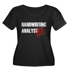 Off Duty Handwriting Analyst T