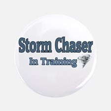 """Storm Chaser In Training 3.5"""" Button"""
