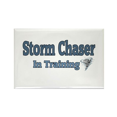 Storm Chaser In Training Rectangle Magnet (10 pack