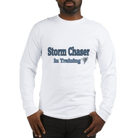 Storm Chaser In Training Long Sleeve T-Shirt