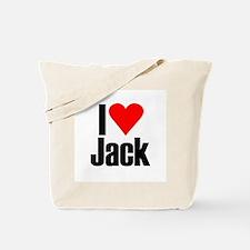 I love Jack Tote Bag