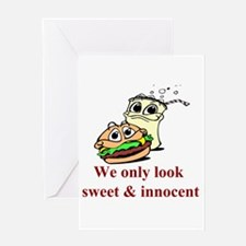 Sweet and Innocent Greeting Card