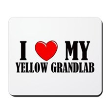 Yellow Grandlab Mousepad
