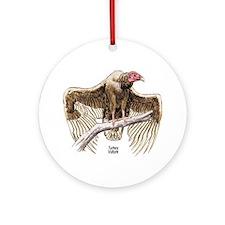 Turkey Vulture Bird Keepsake (Round)