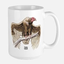 Turkey Vulture Bird Large Mug