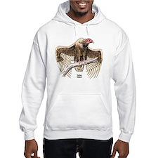 Turkey Vulture Bird (Front) Hoodie
