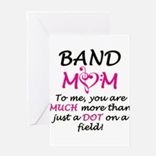 Band Mom Greeting Card
