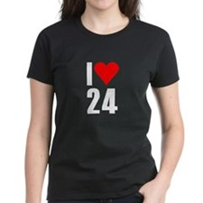 I love 24 Tee