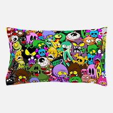 Monsters Creepy Doodles Saga Pillow Case