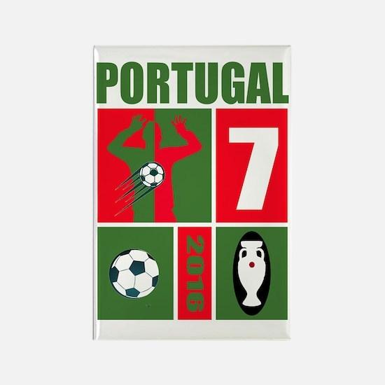 Cool Ronaldo Rectangle Magnet