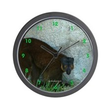 Lemur Love Wall Clock