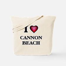I love Cannon Beach Oregon Tote Bag