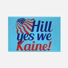 Hill Yes We Kaine Rectangle Magnet