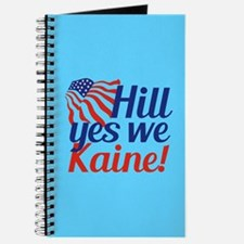 Hill Yes We Kaine Journal